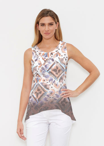 Desert Ikat Beige (17105) ~ High-low Tank