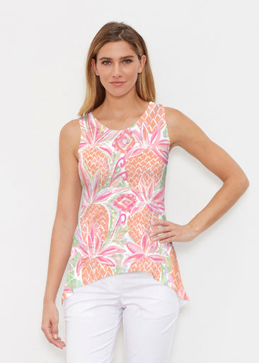 Pineapple Coral (17115) ~ Signature High-low Tank