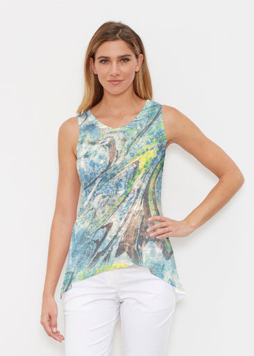 Orbit Teal (17161) ~ High-low Tank