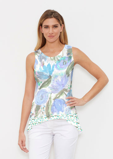 Monet Blue (17178) ~ High-low Tank
