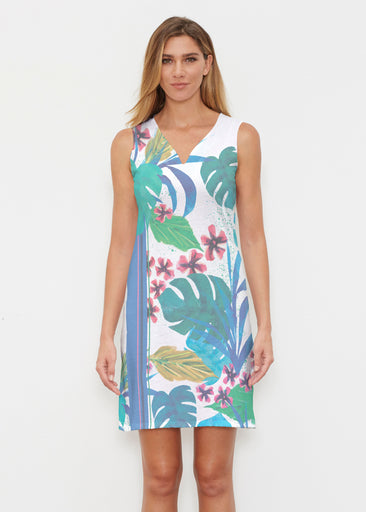 Jungle Stripe (17186) ~ Classic Sleeveless Dress