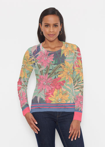 Autumn Stripe (17196) ~ Signature Long Sleeve Crew Shirt