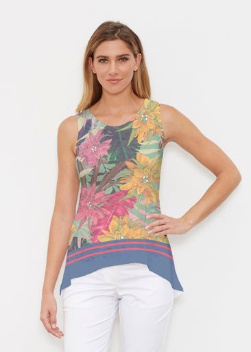 Autumn Stripe (17196) ~ Signature High-low Tank