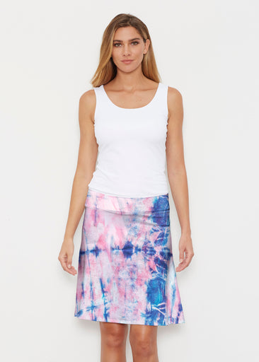 Colour Wash Pink (17198) ~ Silky Brenda Skirt 21 inch