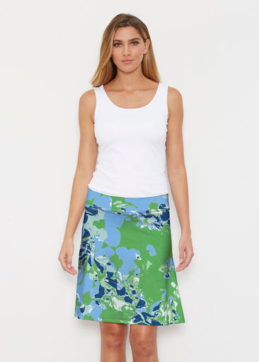 Frosted Green (19112) ~ Silky Brenda Skirt 21 inch