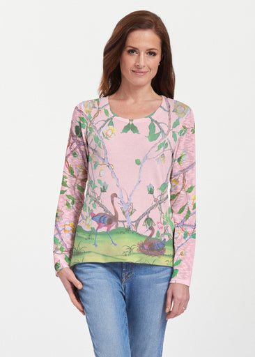 Wildwood Pink (19121) ~ Texture Mix Long Sleeve