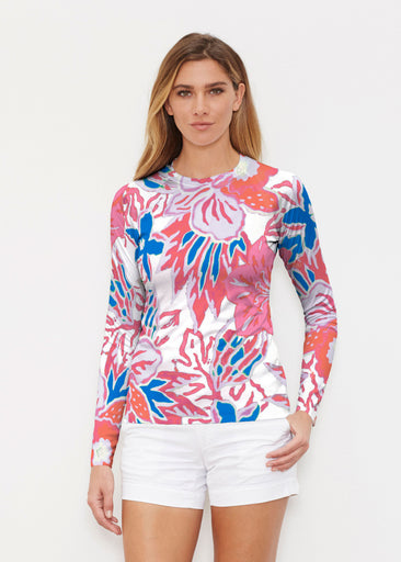 Hot Tropics (19153) ~ Long Sleeve Rash Guard