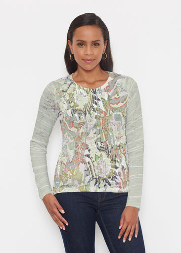 Jungle Escape (19156) ~ Signature Long Sleeve Crew Shirt