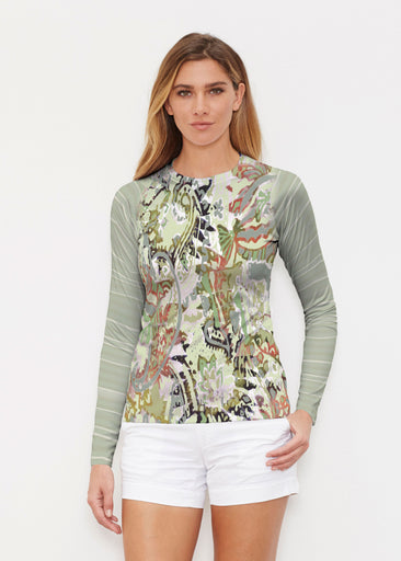 Jungle Escape (19156) ~ Long Sleeve Rash Guard