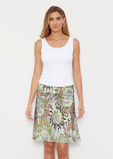 Jungle Escape (19156) ~ Silky Brenda Skirt 21 inch