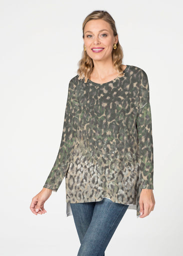 Cameo Cheetah (2001) Slouchy Butterknit Top