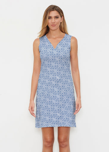 Marine Key Navy (20333) ~ Classic Sleeveless Dress