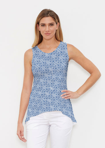 Marine Key Navy (20333) ~ Signature High-low Tank