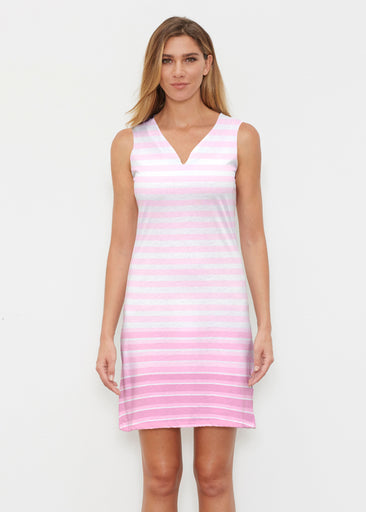 Brenton Pink (20348) ~ Classic Sleeveless Dress