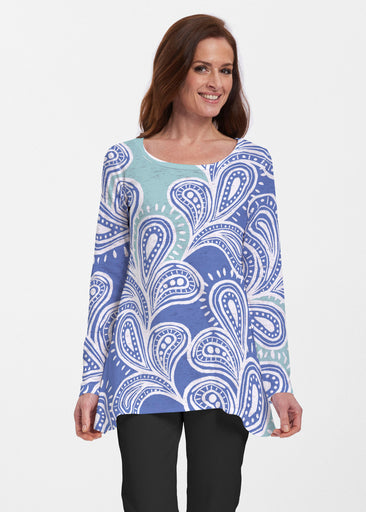 Paisley Burst (20373) ~ Abigail Thermal Tunic
