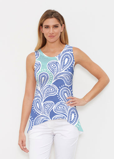 Paisley Burst (20373) ~ High-low Tank