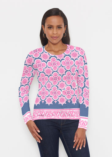 Isabella Pink (22059) ~ Signature Long Sleeve Crew Shirt