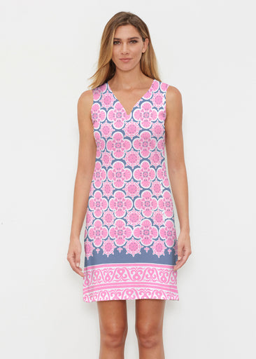 Isabella Pink (22059) ~ Classic Sleeveless Dress