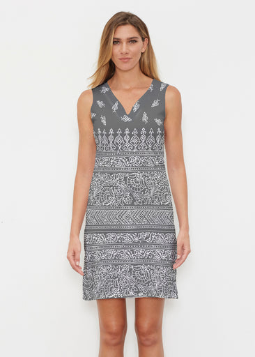 Kavi Black (22075) ~ Classic Sleeveless Dress