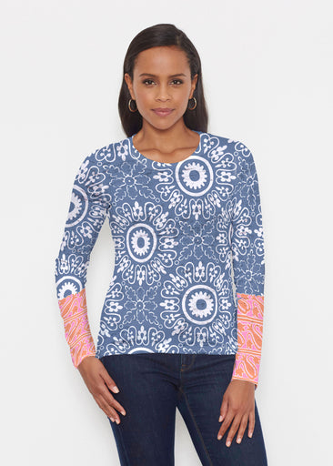 Laurel White (22101) ~ Signature Long Sleeve Crew Shirt