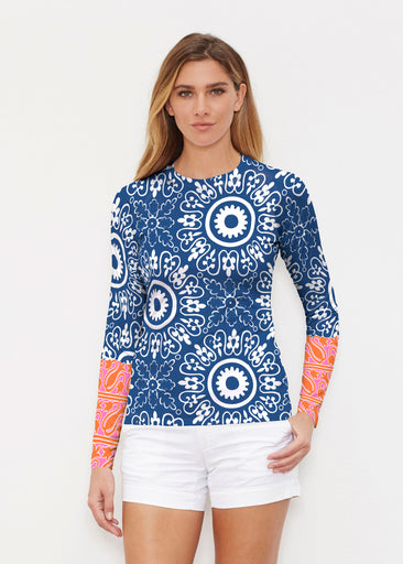 Laurel White (22101) ~ Long Sleeve Rash Guard