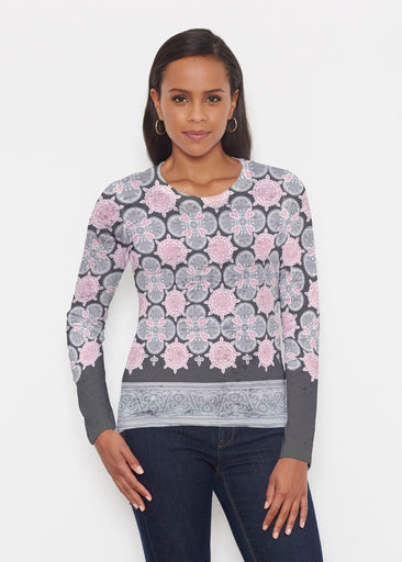 Isabella Black (22114) ~ Signature Long Sleeve Crew Shirt