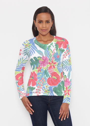 Hawaiian Fling (22141) ~ Signature Long Sleeve Crew Shirt