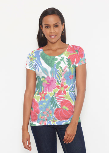 Hawaiian Fling (22141) ~ Signature Short Sleeve Scoop Shirt