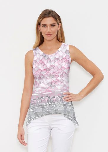 Shells Pink (2284) ~ High-low Tank
