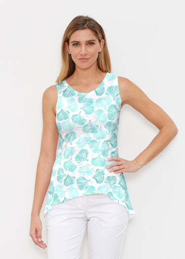 Ginko Turquoise (2291) ~ High-low Tank