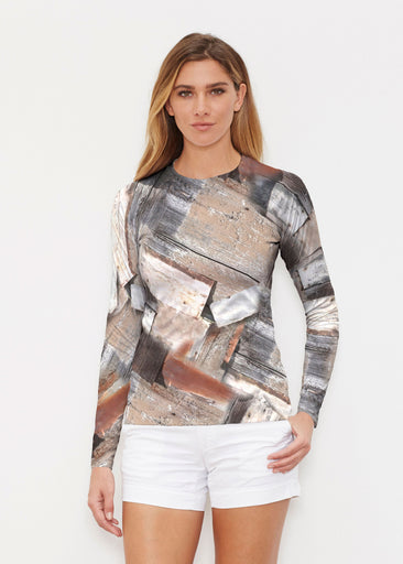 Driftwood (24013) ~ Long Sleeve Rash Guard