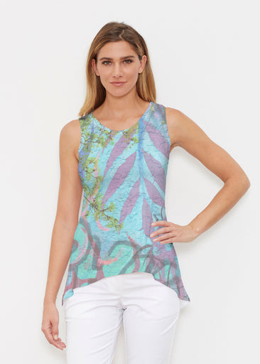 Urban Flora Aqua (25017) ~ Signature High-low Tank