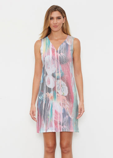 Graffiti Blossom (25021) ~ Classic Sleeveless Dress