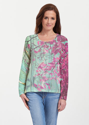 Rustic Blooms (25022) ~ Texture Mix Long Sleeve