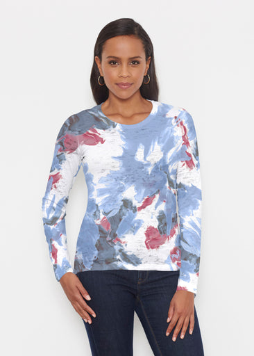 Splatter (25066) ~ Signature Long Sleeve Crew Shirt