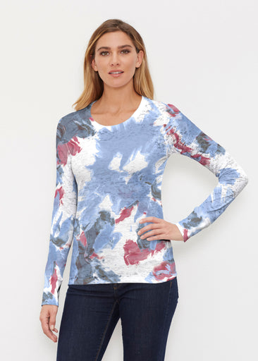 Splatter (25066) ~ Thermal Long Sleeve Crew Shirt