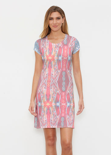 Sedona Sunset (2816) ~ Classic Crew Dress