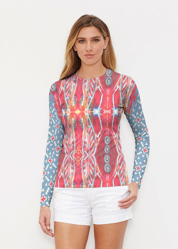 Sedona Sunset (2816) ~ Long Sleeve Rash Guard