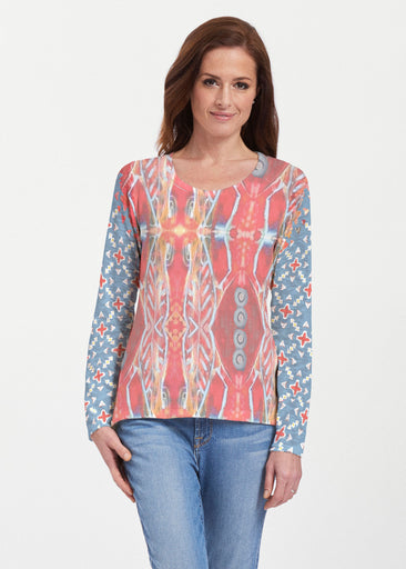 Sedona Sunset (2816) ~ Texture Mix Long Sleeve