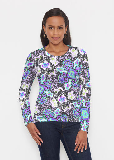Bayou Black (2827) ~ Signature Long Sleeve Crew Shirt