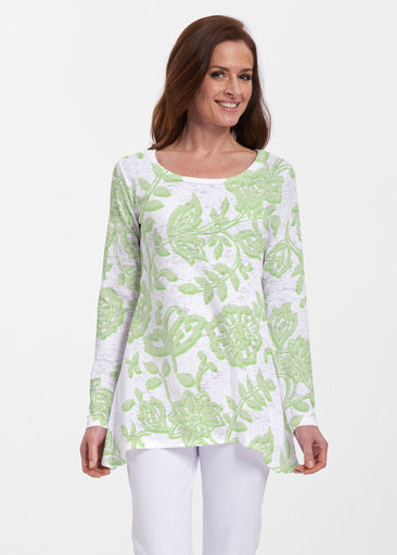 Gloria Green (2868) ~ Abigail Thermal Tunic
