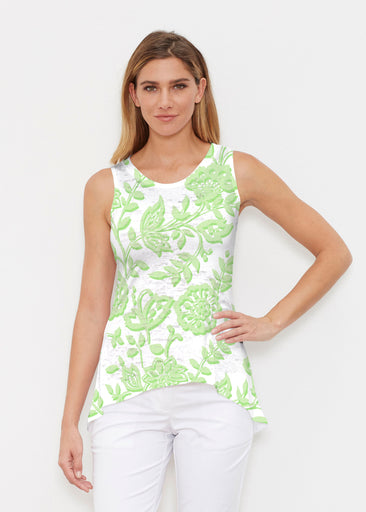 Gloria Green (2868) ~ High-low Tank