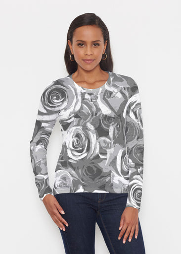 Vintage Rose (5165) ~ Signature Long Sleeve Crew Shirt
