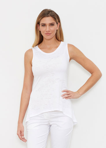 Natural White (5555) ~ Signature High-low Tank