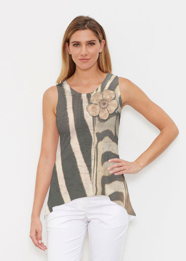 Poppy Zebra (7022) ~ Signature High-low Tank