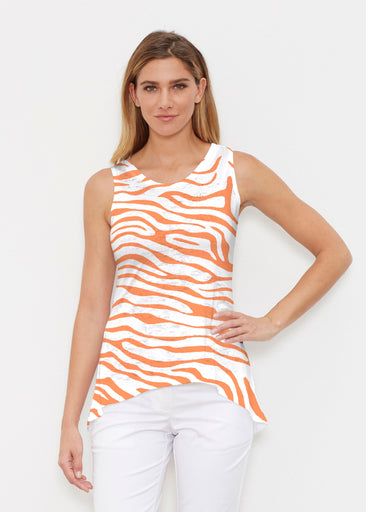 Zebra Orange (7042) ~ Signature High-low Tank