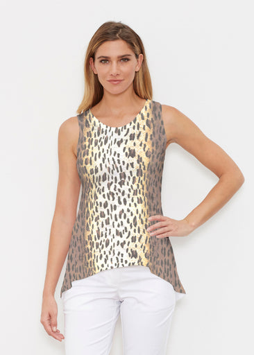 Leopard Brown (7049) ~ Signature High-low Tank