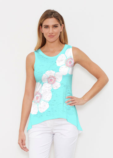Poppy Seaglass Green (7107) ~ Signature High-low Tank