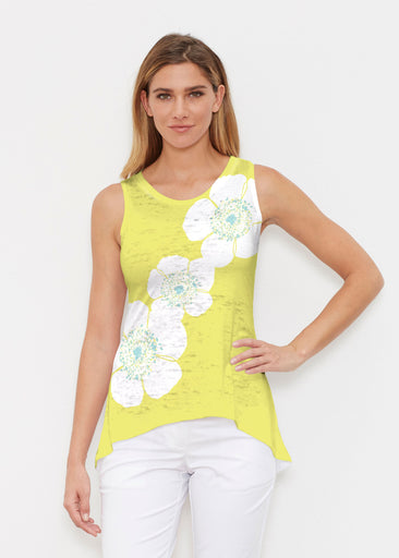 Poppy Chartreuse (7146) ~ High-low Tank