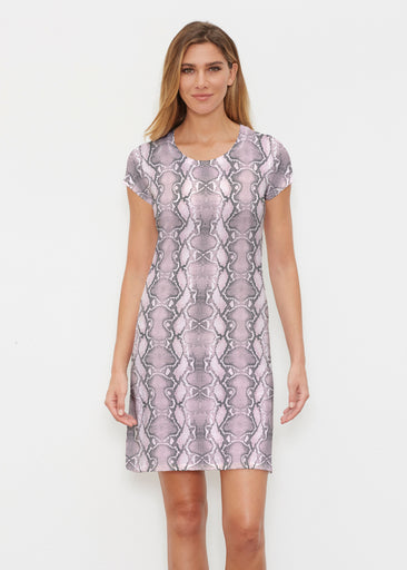 Python Blush (7273) ~ Classic Crew Dress